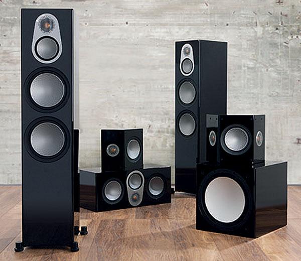 monitor audio speaker spikes