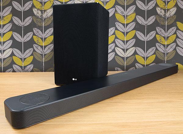 LG SL8YG 3 1 2 Atmos soundbar   Home Cinema Choice