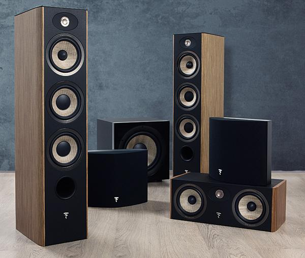 focal speaker placement