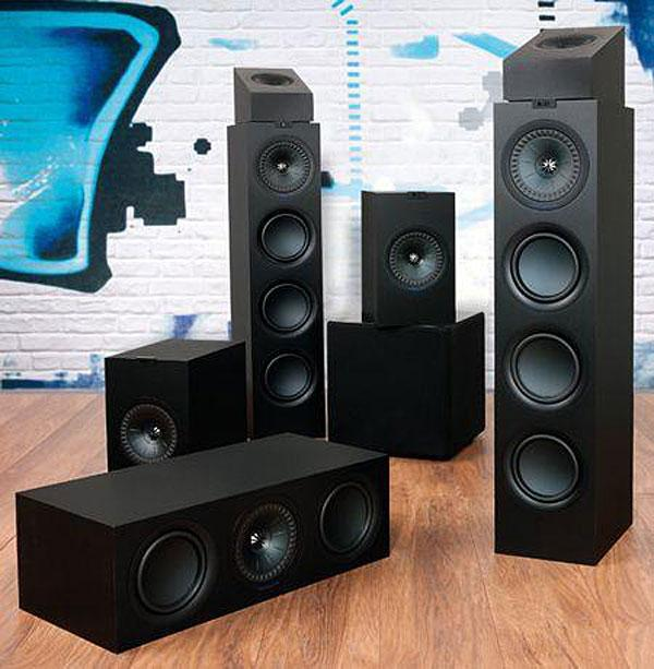 home cinema speakers kef