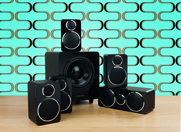 Wharfedale DX-2 5.1 Speaker System White