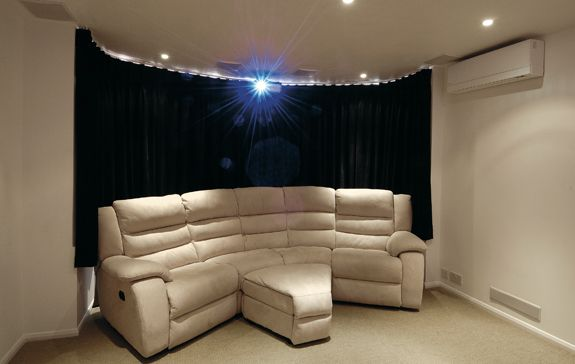 Basics Of A Diy Home Cinema Room Project From The Shape Of The Room