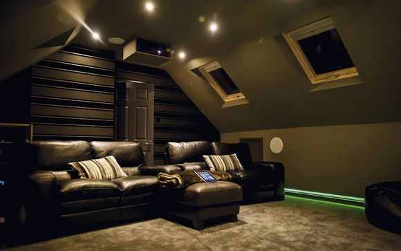 Luxury Design For Home Theater Mini Home Cinema System View Design