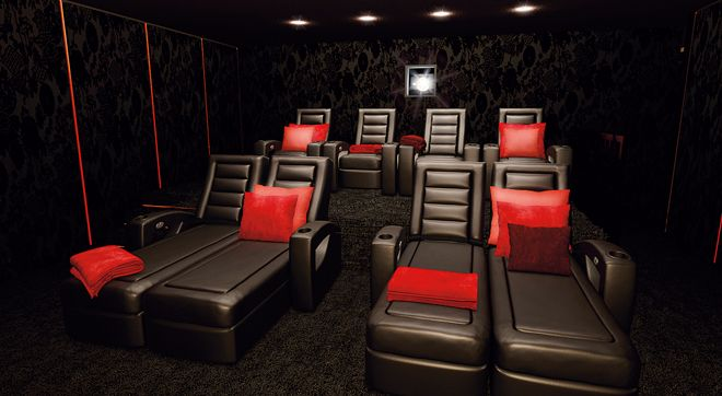 Comfortable Home Cinema Chairs Pictures To Pin On Pinterest