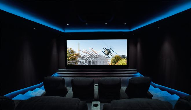Prepare to drool over this eight-seat cinema room with ...