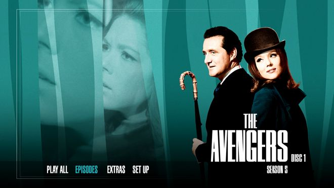 the avengers the complete series 5 review   blu ray