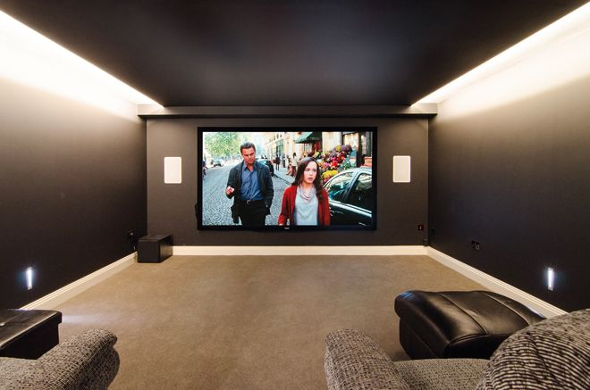 Wonderful Basement Movie Room Picture Palaces Delivered By Professional Install Outfits Are Guaranteed To Get Us Intended Decor