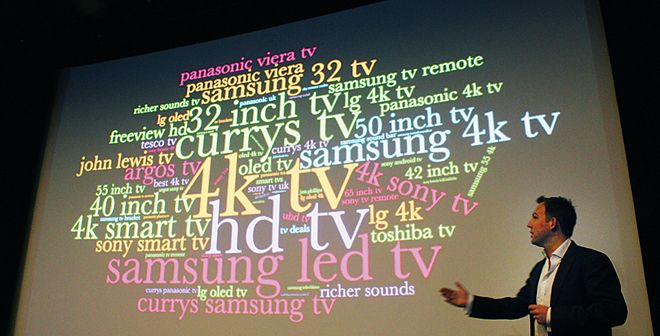 TV trends by Google search