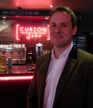 Curzon Home Cinema director Phillip Mordecai