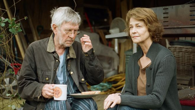 Tom Courtenay and Charlotte Rampling in 45 Years
