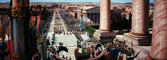 Widescreen spectacle courtesy of Ben-Hur
