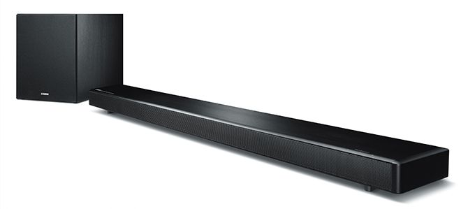 Yamaha's YSP-2700 soundbar uses 16 speaker drivers